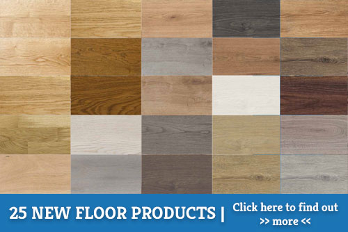 A picture of our 2018 oak flooring range