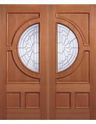 Empress Hardwood Entrance Door