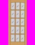 Dakota Dowel Hardwood Exterior Door