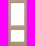 2XGG Unglazed Hemlock Interior Door