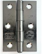 Button Tip Hinge FD30/60 CE7 Certified 76mm - Select Finish