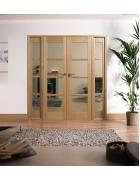 Oak Oslo W6 Room Divider