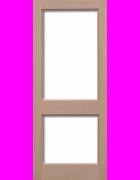 2XGG Hemlock Unglazed Exterior Door