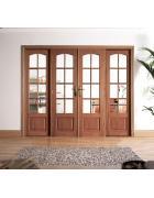 W8 Hardwood Room Divider