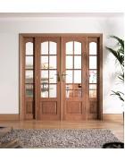 W6 Hardwood Room Divider