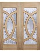 Majestic Oak Entrance Door