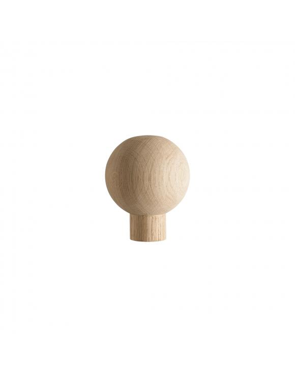 Slender Quays Newel Post Ball Cap Select Timber and Type image