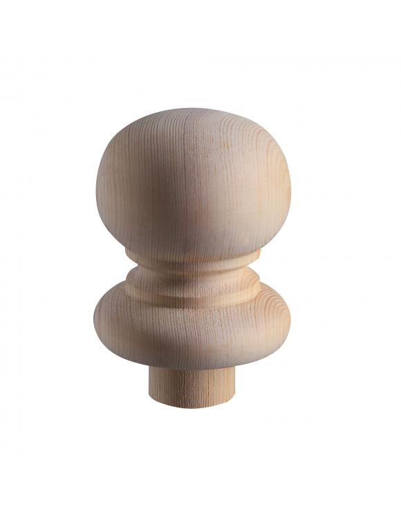 90mm Rolling Pin Newel Post Cap Select Style image
