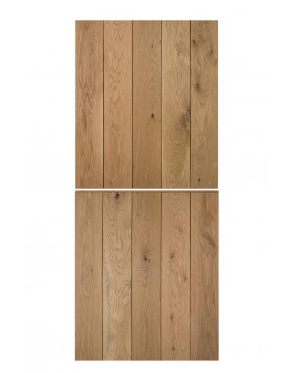 Solid Oak Ledged Cottage Stable Door image
