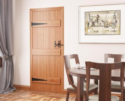 Solid Oak Ledged Doors & Floors