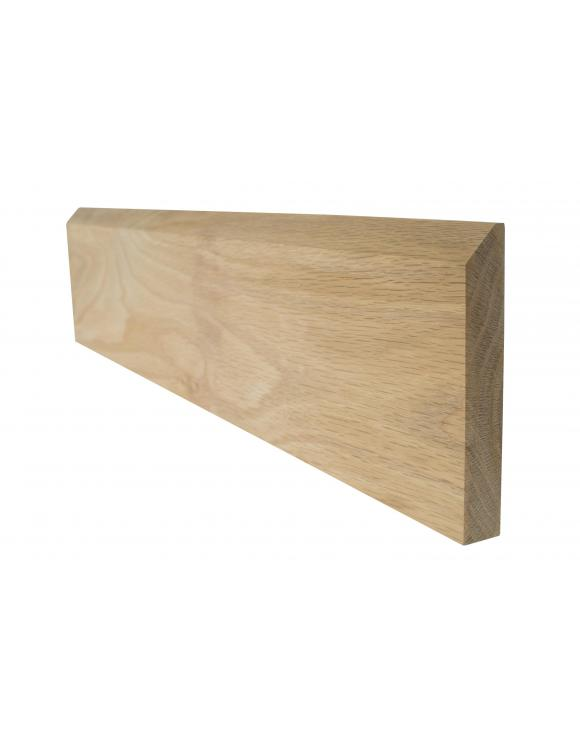 Solid Oak Small Chamfered Architrave Skirting Board image