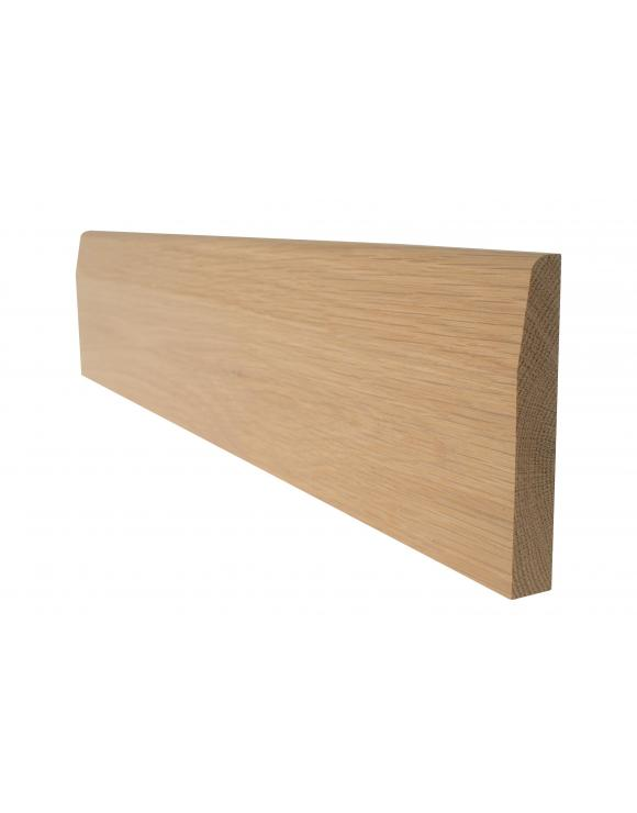 Solid Oak Chamfered Architrave Skirting Board image