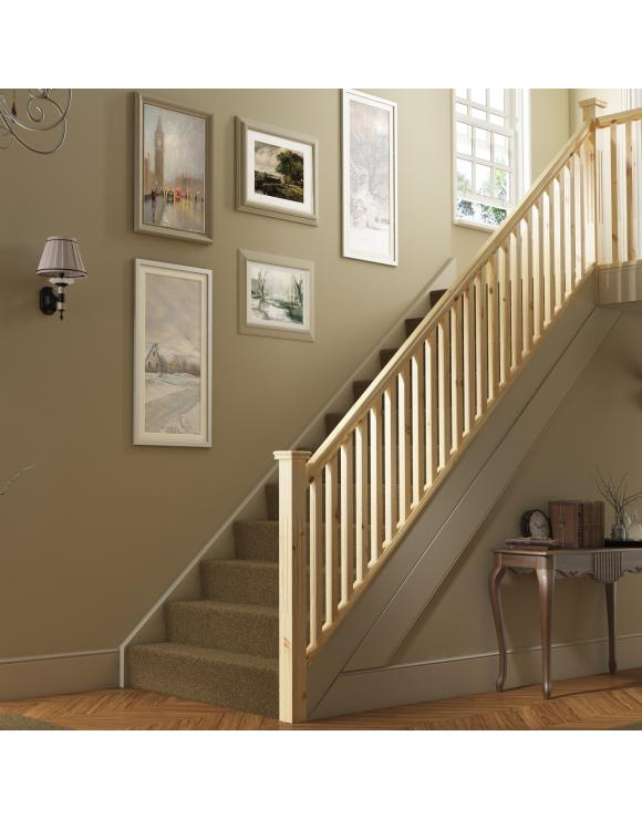 Square & Fluted Stair & Landing Balustrade Kit image