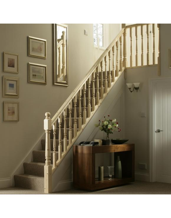 Colonial Turned Stair & Landing Balustrade Kit image