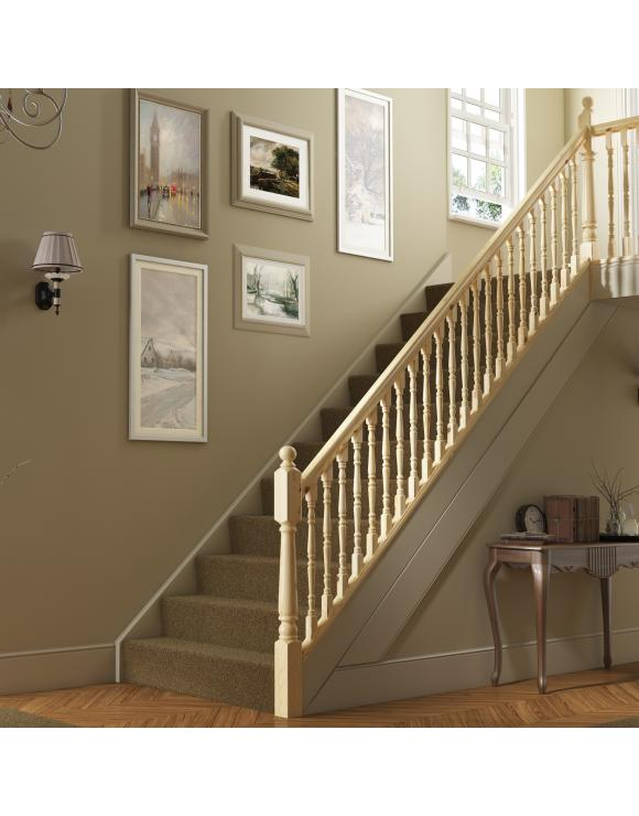 Traditional Turned Stair & Landing Balustrade Kit image