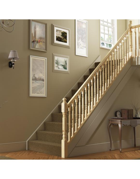 Classic Rolling Pin Stair & Landing Balustrade Kit image