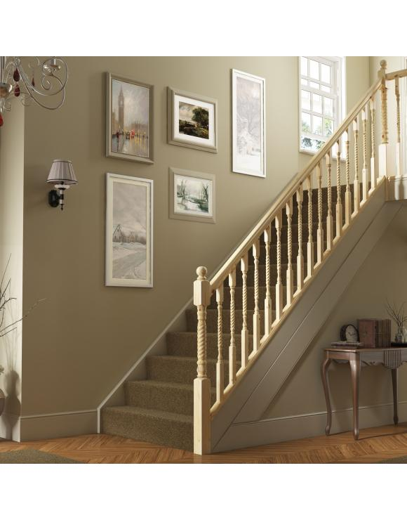 Barley Twist Stair & Landing Balustrade Kit image