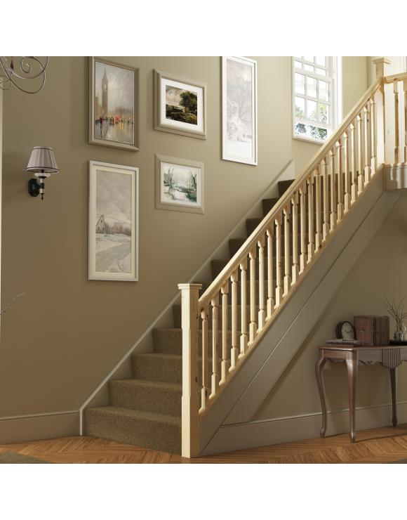 Octagonal Stair & Landing Balustrade Kit image