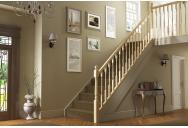 Turned & Fluted Stair & Landing Balustrade Kit