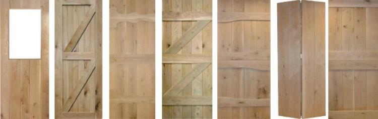 Solid Oak Ledged Door Collection