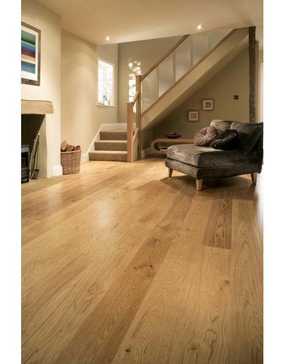 Rustic Grade UV Lacquered Oak Flooring image