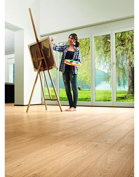 Zermatt Oak 5G 8mm Laminate Flooring image