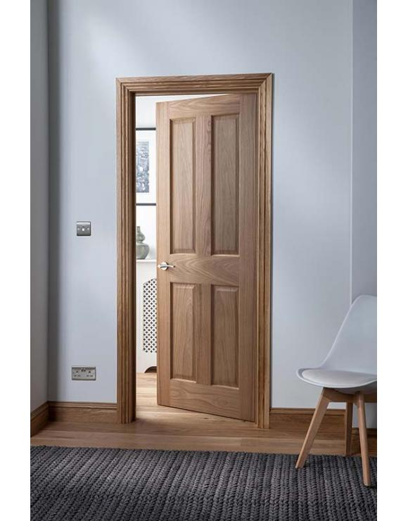 Cheshire 4 Panel Oak Internal Door image