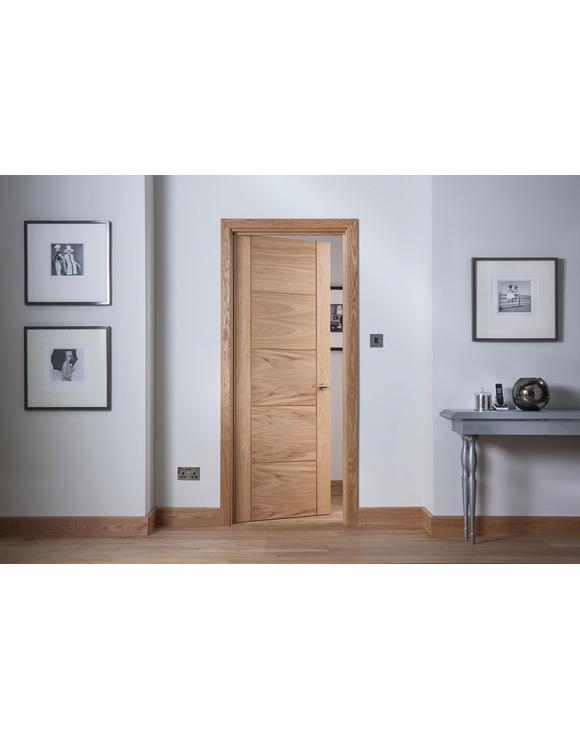 Modernus 5 Panel Oak Internal Door image