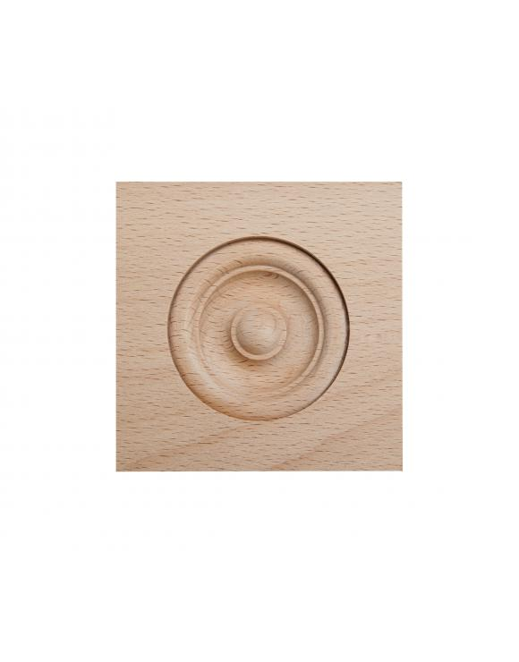 Pine Bulls Eye Architrave Block image