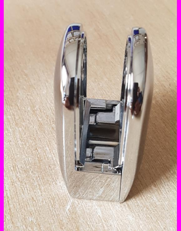 Chrome Glass Clamp 8mm or 10mm image
