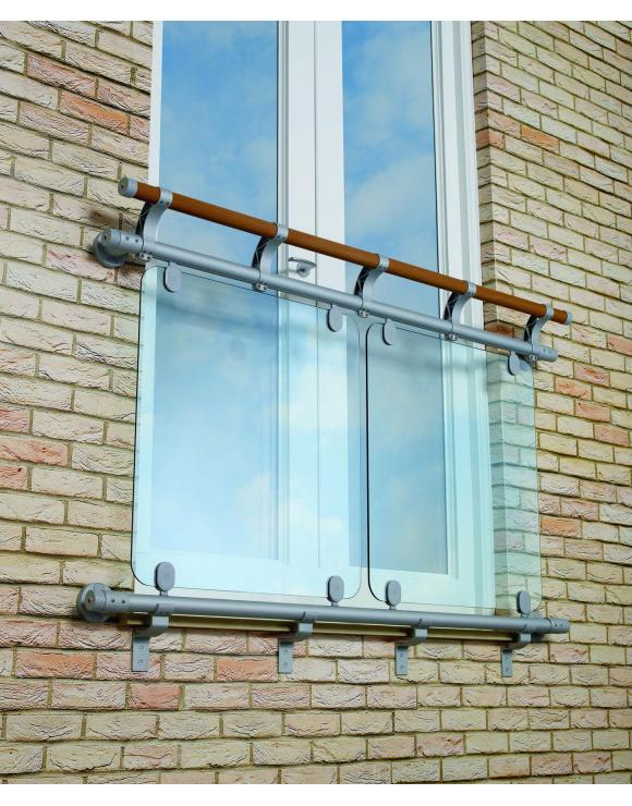 Juliet Balcony Kit - 970mm x 1110mm Openings image