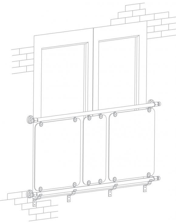 Juliet Balcony Kit - 1870mm x 2010mm Openings image