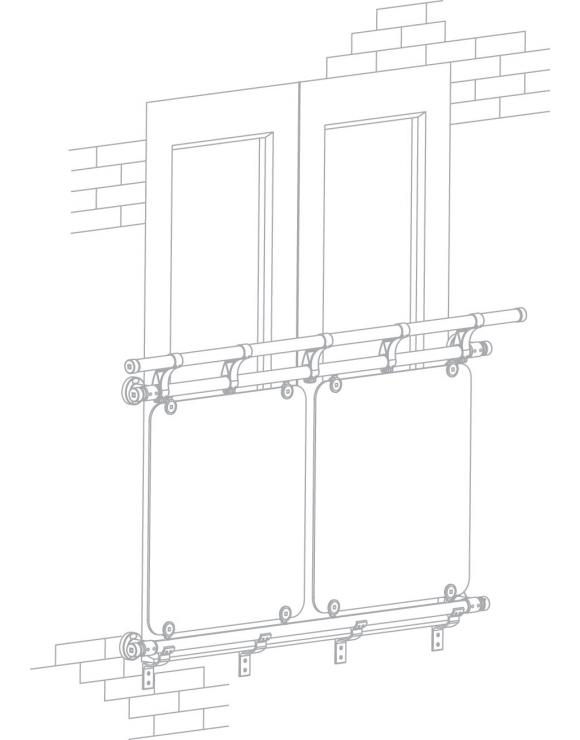 Juliet Balcony Kit - 1500mm x 1570mm Openings image