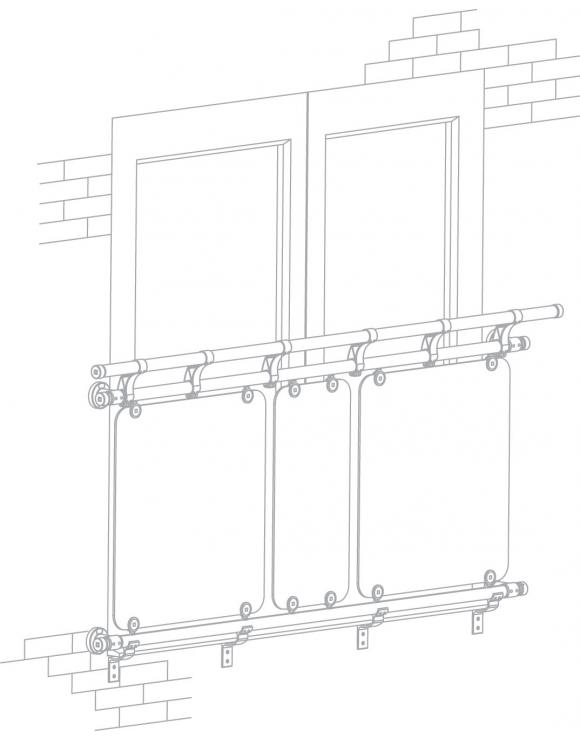Juliet Balcony Kit - 1870mm x 2010mm Openings image