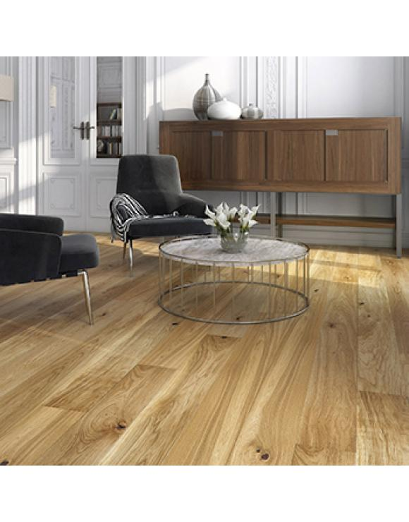 Natural Oak 1 Strip Brushed and Oiled 5G Engineered Flooring image