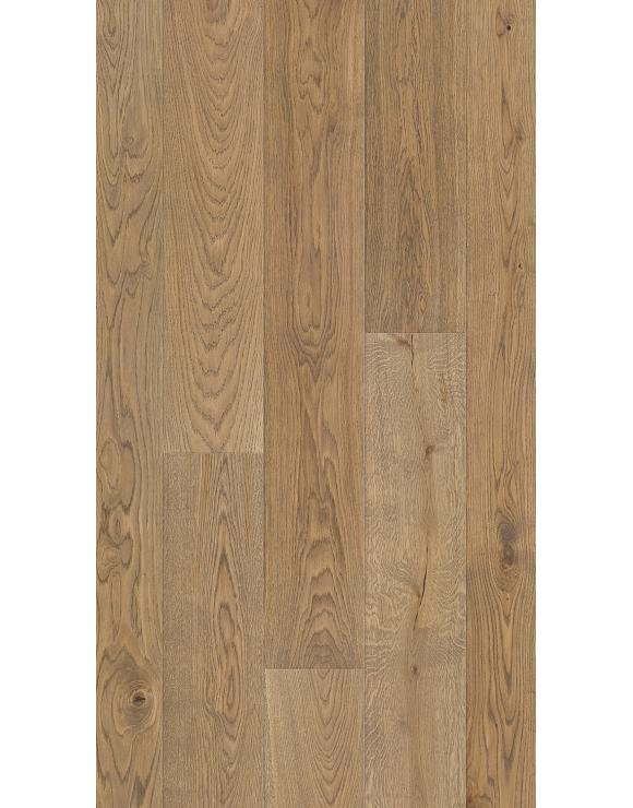Oak 1 Strip Grey Mist Matt Lacquer 5G Engineered Flooring image