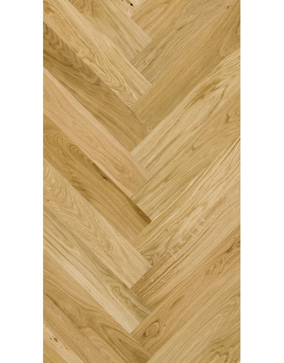Herringbone Caramel Oak Matt Lacquer 5G Engineered Flooring image