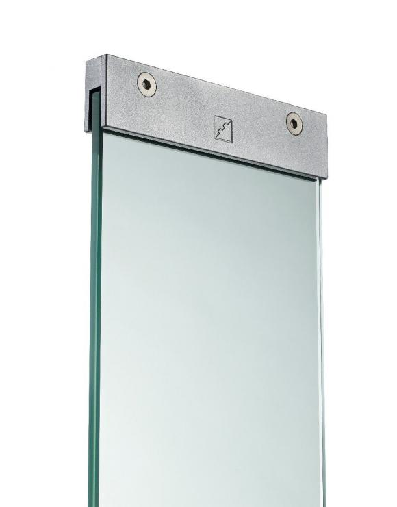 Glass Panels with Brackets image