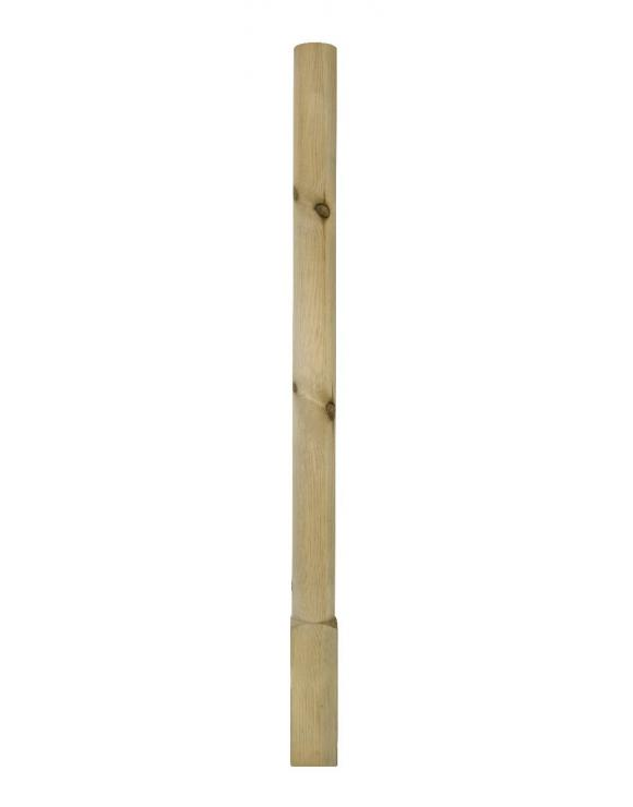 Softwood Round Newel Post image