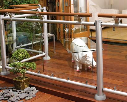 Contemporary FUSION Ground Level Decking