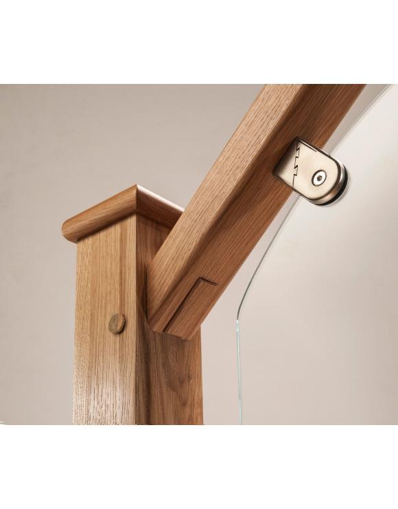 Oak Elements Glass Handrail image