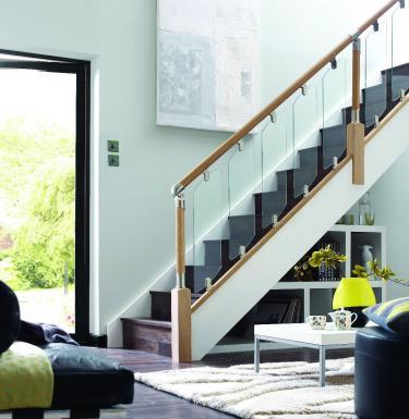 Fusion Glass Staircase Refurbishment   Click Here
