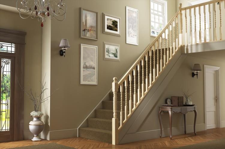Rope Twist range of staircase parts. We stock the spindles, newel posts, newel caps, handrails and base rails here on our website.