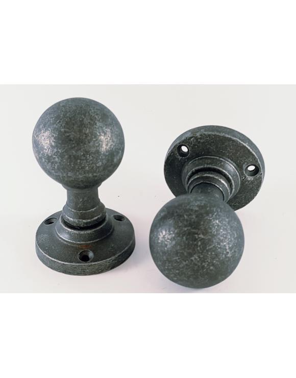 Ball Pewter Door Knob image