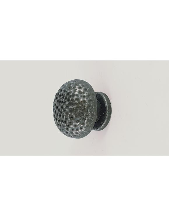 Dotted Pewter Cupboard Knob image