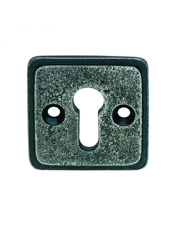 Square 40mm Pewter Escutcheon image