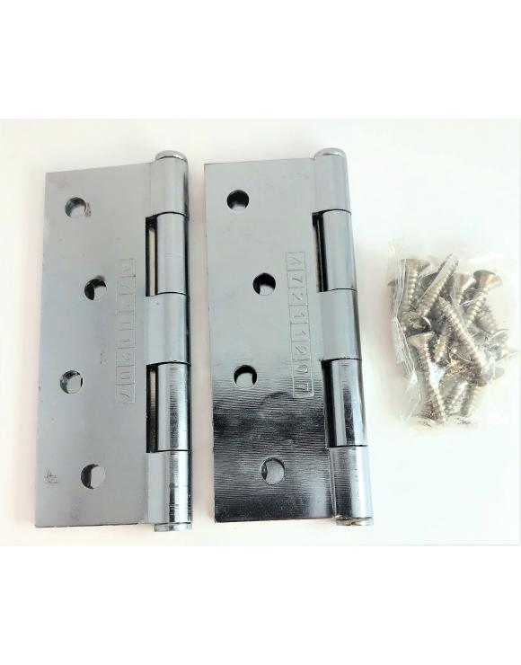 Button Tip Hinge FD30/60 CE7 Certified 100mm - Select Finish image