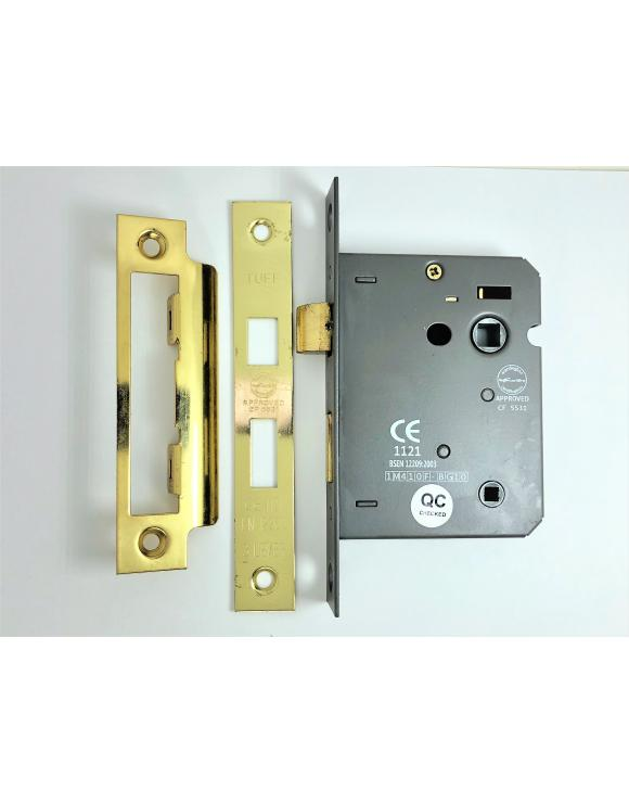 Fire Rated Bathroom Door Lock CE BS Rated image
