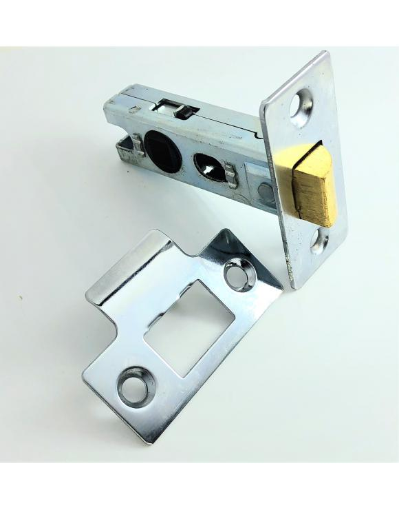 Standard Nickel Mortice Tubular Latch image