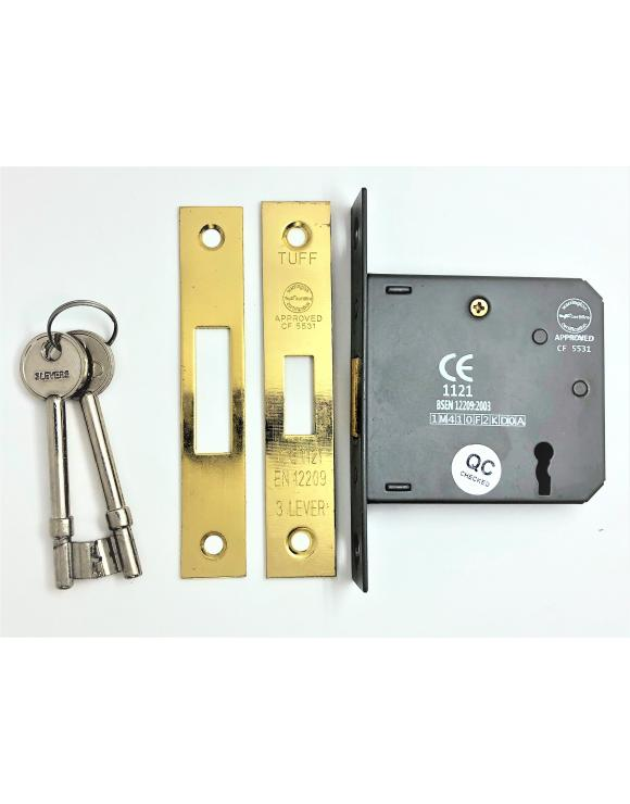 Door Deadlock Lock CE BS Rated image